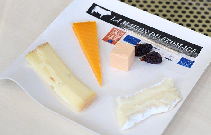 期間限定!ヨーロッパ産チーズ無料体験イベント「ラ・メゾン・デュ・フロマージュ」