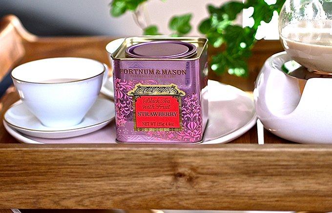 ロンドン流シンプルな贅沢!300年の歴史から生まれたイチゴ・ミルク・ティー
