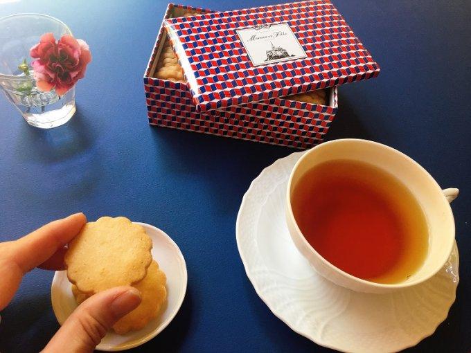 神戸マダムの極上おやつ 御影『マモン・エ・フィーユ』のフレンチビスキュイ