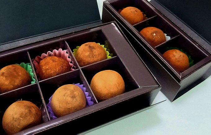 京の手仕事が感じられる!和菓子のような「牟尼庵」のトリュフチョコレート