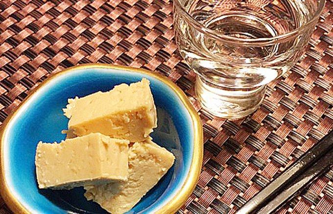 究極の酒の肴 豆腐のもろみ漬け