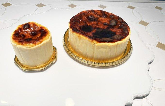 中がとろり~んな専門店の濃厚バスクチーズケーキ