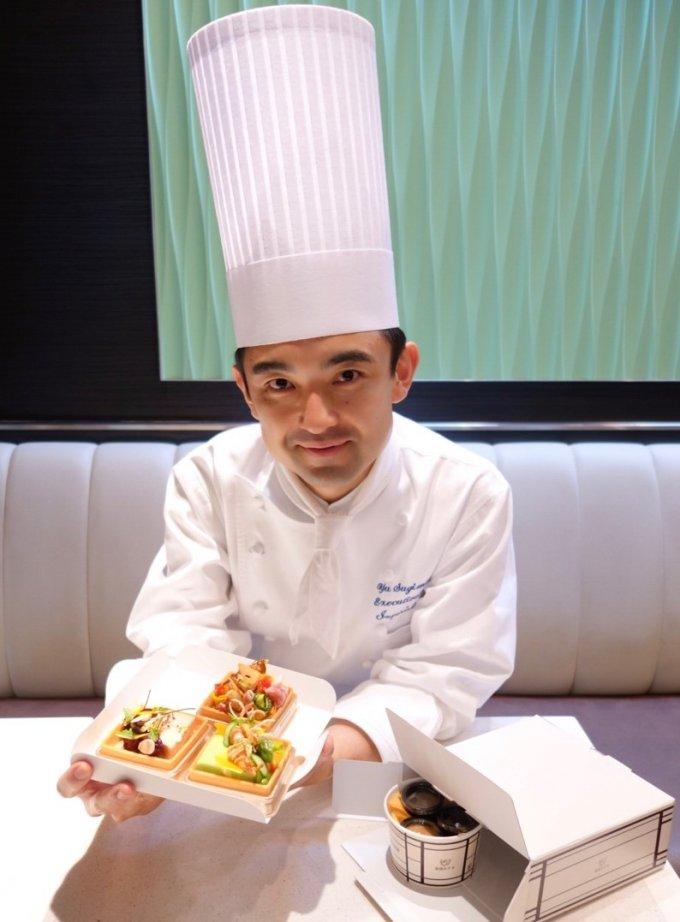帝国ホテル 東京「ガルガンチュワ」で杉本雄東京料理長考案の洋惣菜が登場!