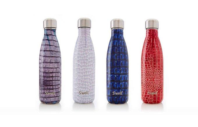 寒い冬に!保温12時間しっかりキープ。スタイリッシュ魔法瓶ボトル