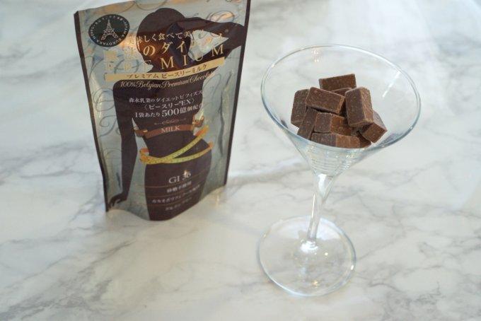 甘いもの好きに朗報!食事前に1~2粒のチョコを食べて、美味しく、美しく!