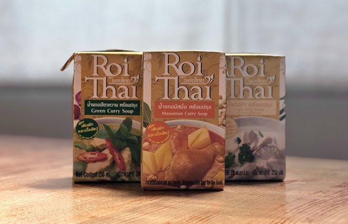本場タイでも人気!『ロイタイ』のスープシリーズで簡単本格タイ料理!