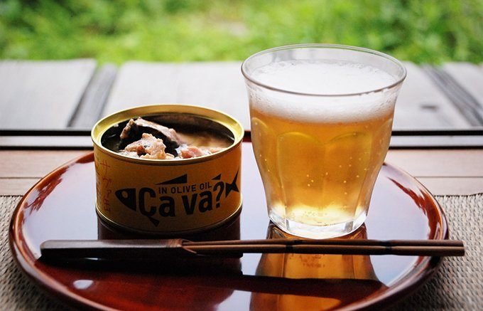 「岩手県産株式会社」のサヴァ缶をつまみに縁側で飲む幸せ