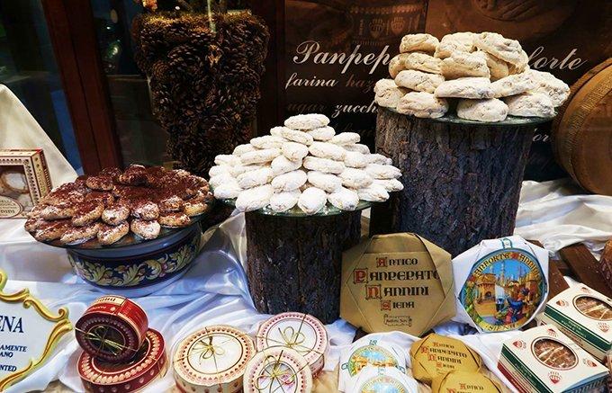 イタリアの美しい街シエーナで出会った、味わい深い郷土菓子「パンフォルテ」