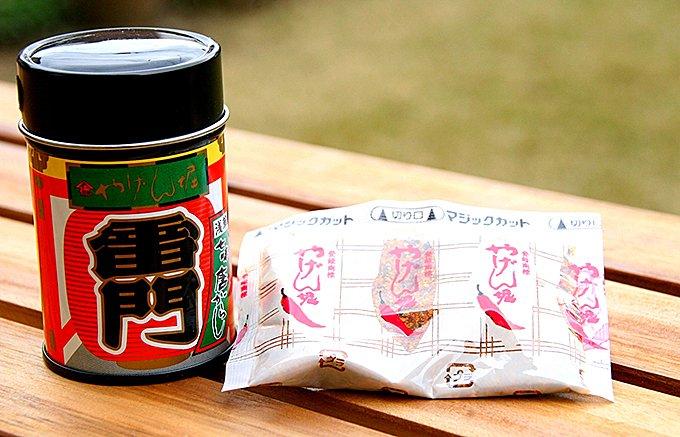 漢方薬をヒントに誕生した、東京浅草「やげん堀」の「七味唐辛子」