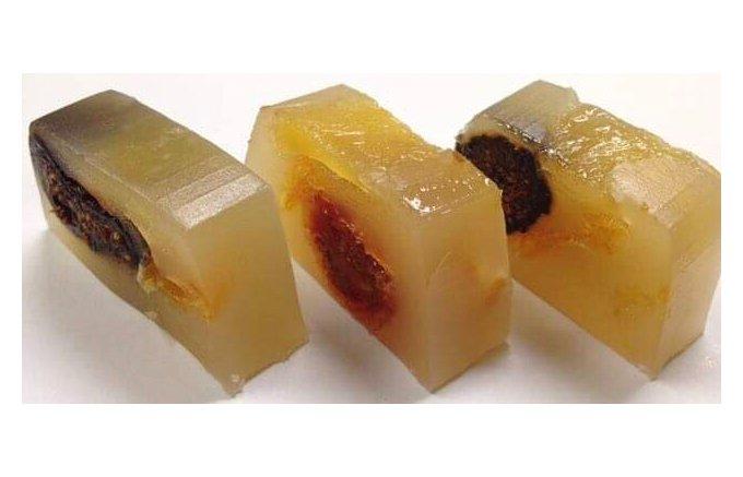 フルーツ 羊羹 ドライ wagashi asobi【ドライフルーツの羊羹】