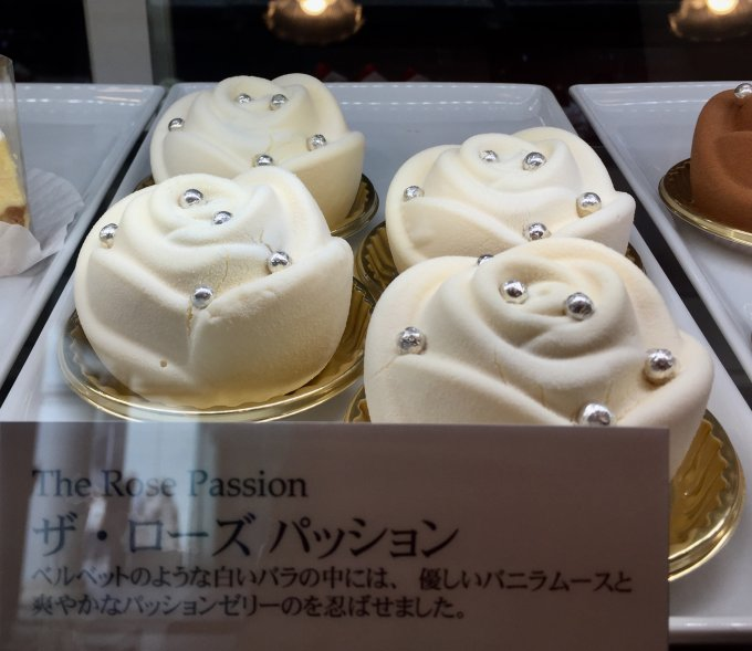 薔薇に恋したスイーツ、ローズホテル横浜の「ザ・ローズ」