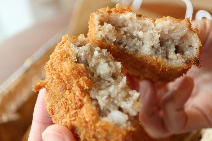日本三大和牛の近江牛100%使用!お肉の甘みや旨みがきいた贅沢なコロッケ