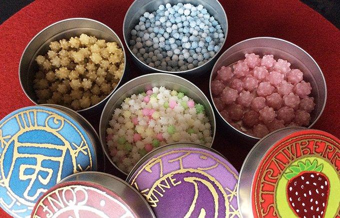 スイーツのジュエリーみたい!缶も集めたくなる京都「星果庵」のかわいい金平糖