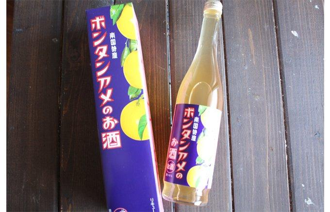 なつかしの飴がお酒に!鹿児島のお菓子「ボンタンアメのお酒」