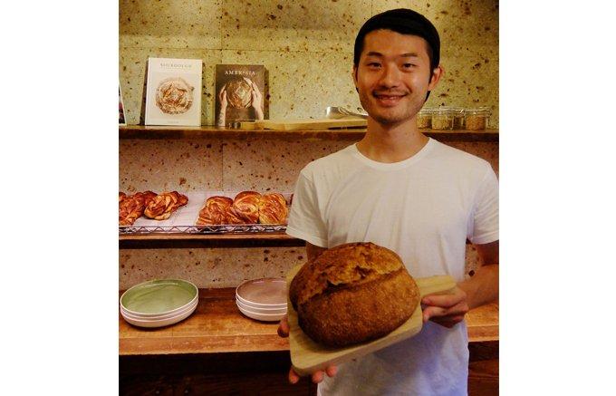 ノルウェー産小麦とライ麦を使った「サワードウブレッド」のお店が谷中にオープン