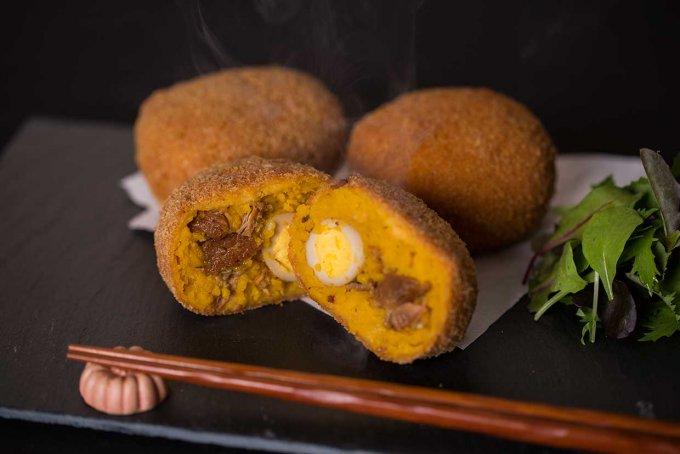 糸島でいろいろな名産をコロッケにつめた贅沢すぎる「糸島正キのコロッケ」