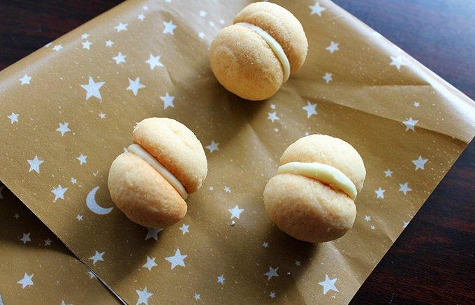 女性ウケ抜群!コロンとした形がかわいい「キリンレモン サンドクッキー」