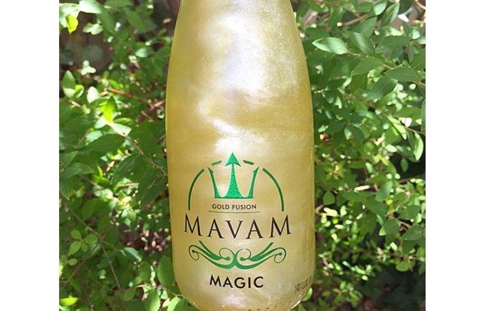 世界初!ボトルを回すと輝き出すラメの輝きが特徴的な「MAVAM」