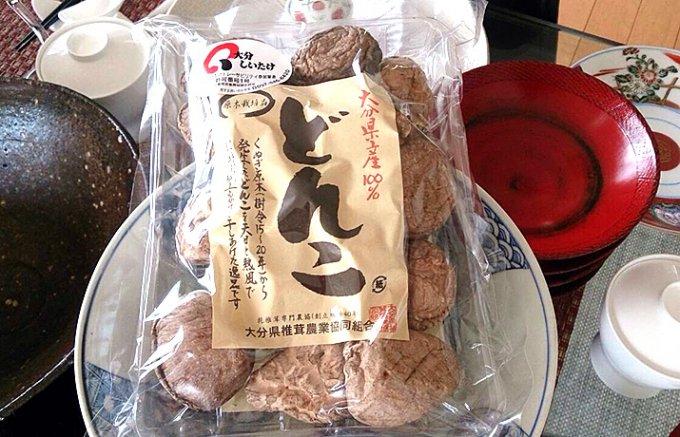 バター焼きでイメージがガラリと変わる!大分県産原木栽培の肉厚「どんこ」