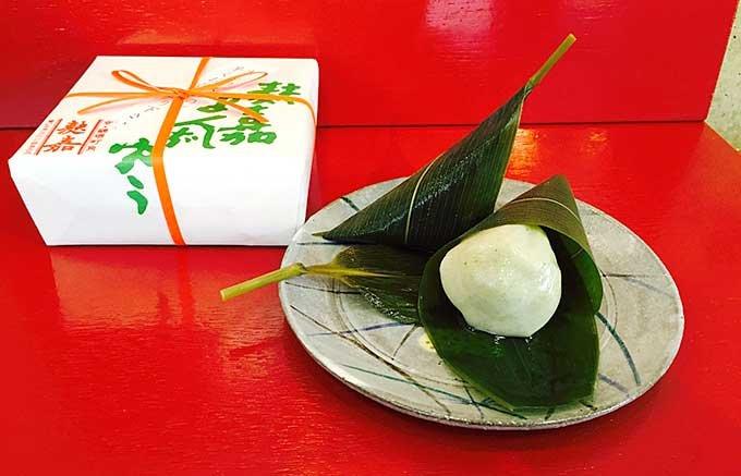 これがまんじゅう!?京都麩嘉(ふうか)の夏にぴったりのみずみずしい饅頭