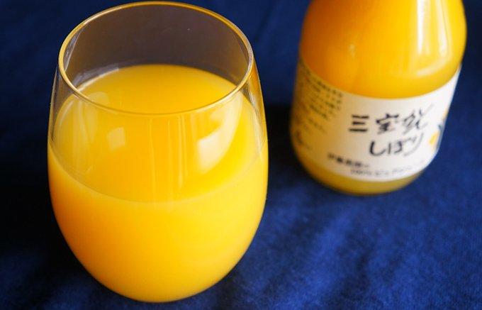 美味しすぎて、和歌山城外不出!幻の果実「三宝柑」の100%ピュアジュース!