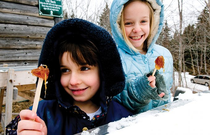 カナダ流メープルシロップの楽しみ方