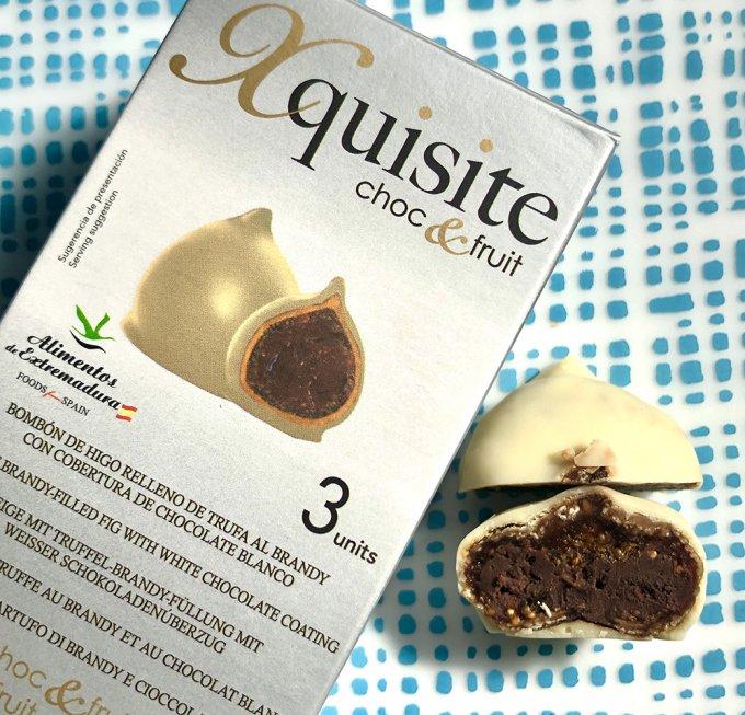 一粒で3度美味しい贅沢ボンボン!スペインのキシテ「フィグホワイトチョコレート」