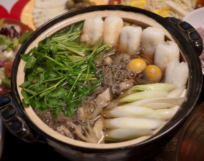 最高の食材で作る、秋田の郷土料理「きりたんぽ鍋」