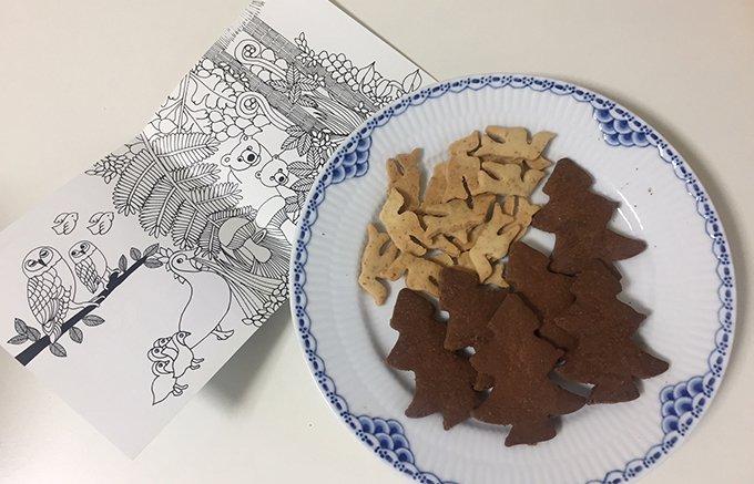 ファミリー必携!塗り絵も付いてギフトに最適のおやつ「ヴィーガニマルクッキー」
