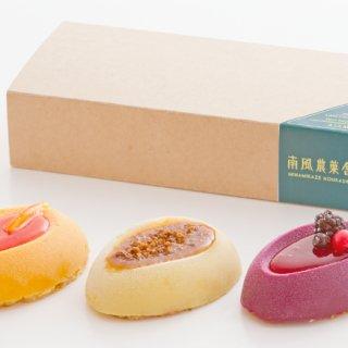 祝1周年!GINZA SIXで見つけた『南風農菓舎』の「カラー芋・アラモード」