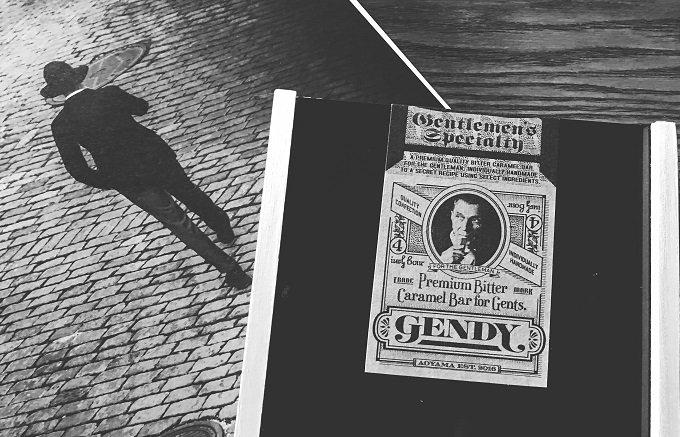 1日50個限定のナンバー刻印入り GENDYの葉巻のようなビターキャラメルバー