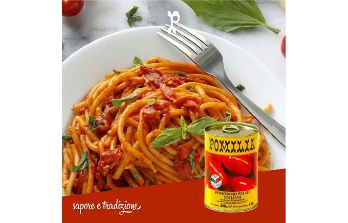 甘くてフルーテイーなチェリートマトが丸ごと入った、ポミリアの「ミニトマト缶」