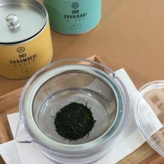 日本茶を気軽に楽しむ、『煎茶堂東京』のシングルオリジン煎茶と「透明急須」