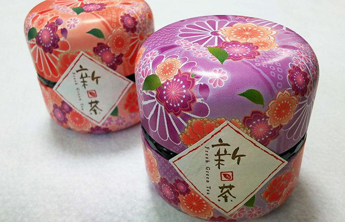 ころんと可愛いジュエルBOXみたい! 五十右園の高級煎茶「なつめ缶」