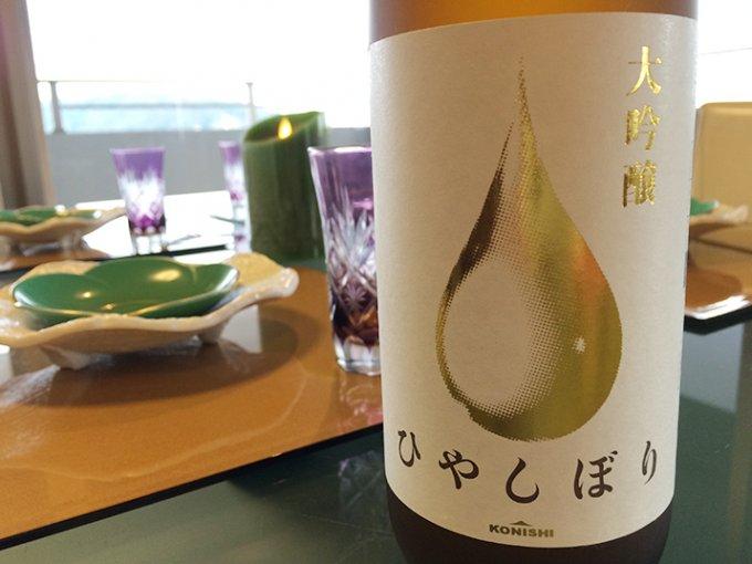 ANA国際線ファーストクラス採用の大吟醸酒