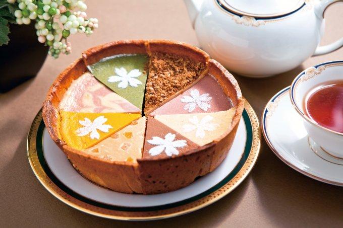 8種類のおいしさが1つに!思わず笑みがこぼれる極上チーズケーキ