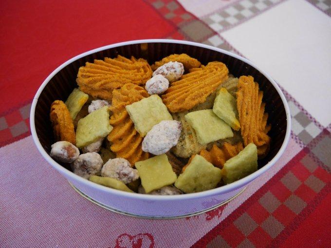 お酒にも合う甘くない焼き菓子『アトリエうかい』の「フールセック・サレ」