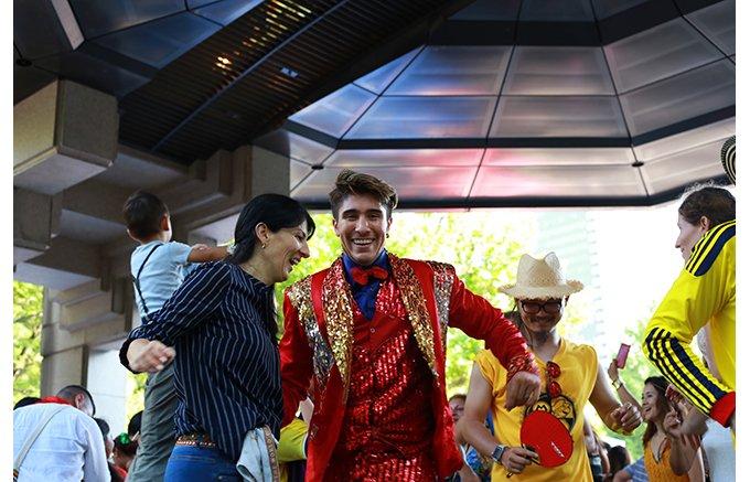 今年はすごいゲストも登場!ますます盛り上がるコロンビア独立記念祭