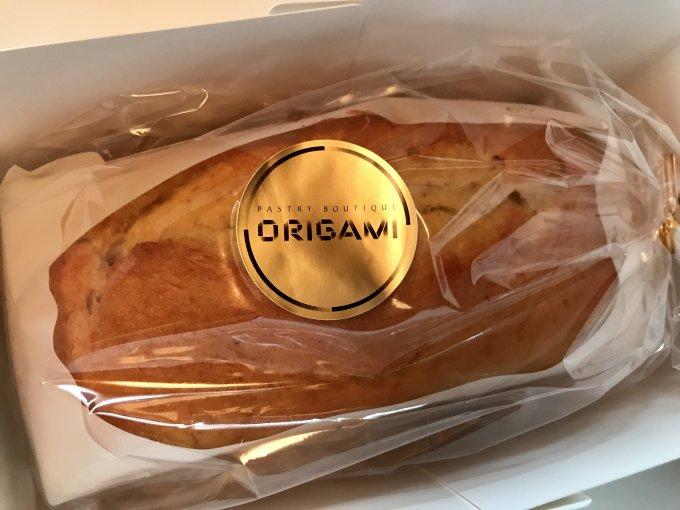その素朴さに惹かれる。濃厚なのに重くない、あの「オリガミ」のバナナブレッド