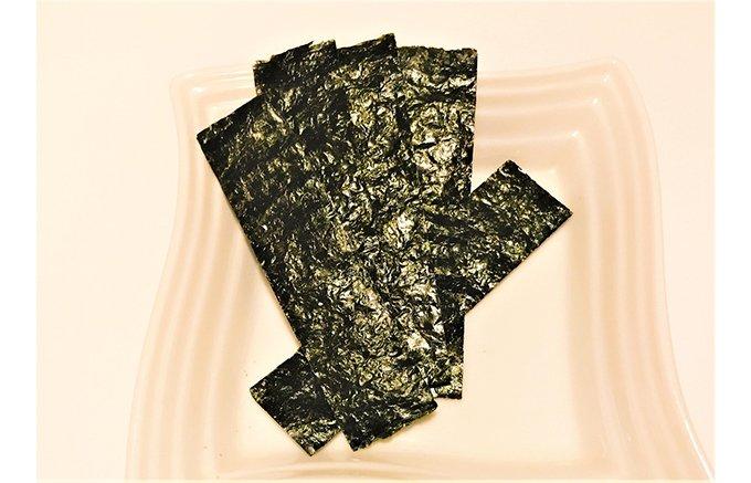 そのまま食べても美味しい、とまらない美味しさ、山本海苔店の『おつまみ海苔』