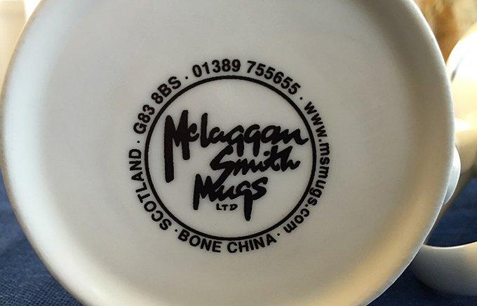 名入れOK!プレゼントに最適 マクラガン スミス社のマグカップ
