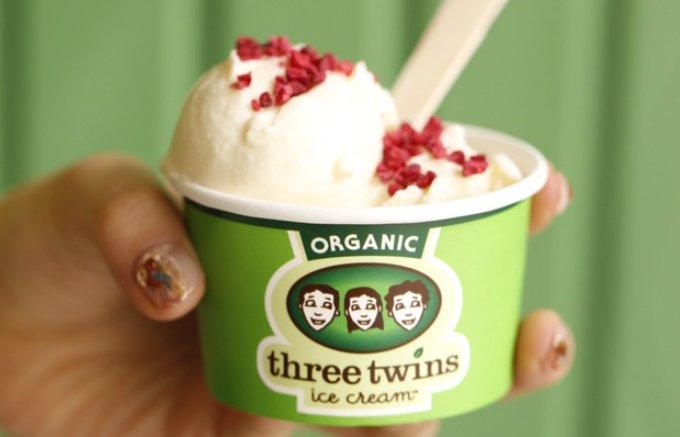 行列必至!USDAオーガニック認証「スリーツインズアイスクリーム」がついに上陸