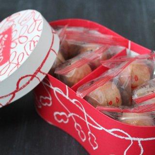 成田山のお土産に、かわいい米屋の「ぴーなっつ最中」はいかが?
