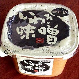 野菜につけて食べて欲しい!生味噌の本当のおいしさが分かる「いわき味噌」