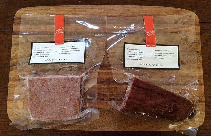 人気の赤身肉の甘味を味わう!希少な岩手の短角牛で作られたコンビーフ&ハム