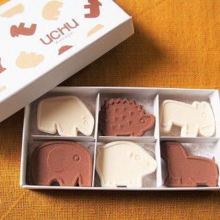 老舗和菓子店が多い京都で若者の心をキャッチする「UCHU wagashi」の落雁
