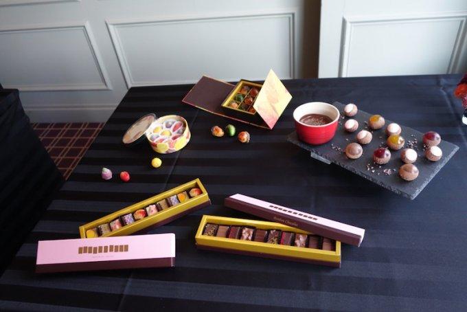 帝国ホテル 東京「ガルガンチュワ」に新作ショコラが登場‼