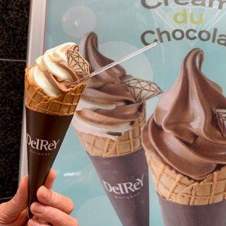 ソフトクリームの概念を覆す濃厚さ!デルレイの絶品ソフトクリームに新作登場