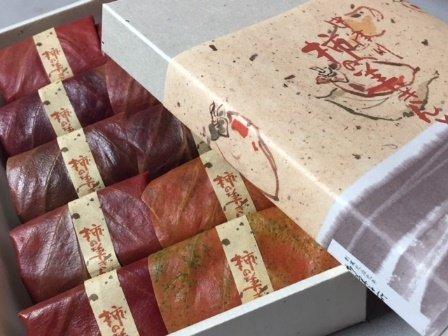栗と柿!おいしい秋が合体した『川上屋』の「柿の美きんとん」