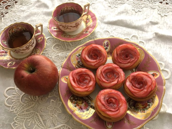【信州・安曇野】華やかで優しく美しい「アップル&ローゼスタルト」